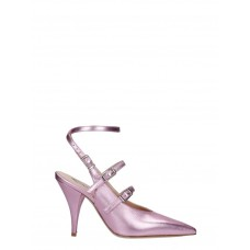 Women Alchimia Pumps In Rose-pink Leather  Fall ZCRLTBS