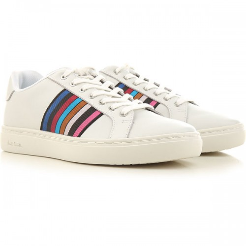 Paul Smith Women Sneakers White Cool Leather on style PKPFM7620
