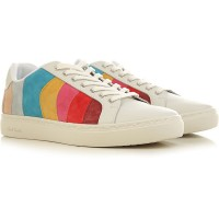 Paul Smith Womens Sneakers Ice Carnival Leather, suede guide OGWTG1288
