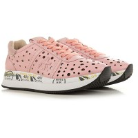 Premiata Women Sneakers Pink Leather the best ISGLZ5604