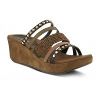 Oletha Spring Step Women's Brown Multi For Wide Feet in store NVMJ358