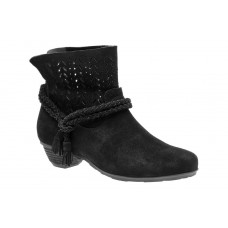 Nicole Neutral ABEO B.I.O.system Women's Black Suede outlet QKQR284
