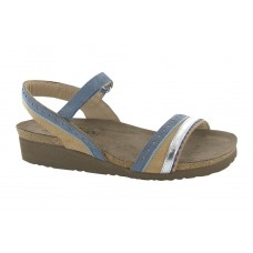 Beverly Naot Women's Selling Well Nude Nubuck-Feather Blue-Silver For Narrow Feet RHMK710