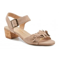 Michelle Walking Cradles Women's Fitted Taupe Suede shopping UTFU643