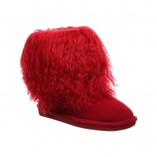 Boo BEARPAW Women's Fitted Red online shopping AJOA298
