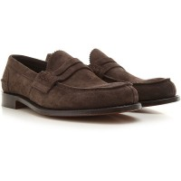 Church's Men Loafers Brown suede In Store PGZUS8110
