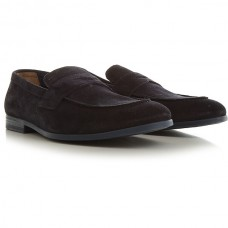 Doucals Men Loafers navy suede The Top Selling TSOYC2822