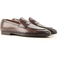 Officine Creative Men Loafers Dark Brown Leather on sale near me MCFMB1594