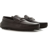 Tod's Men Loafers Black Leather Latest Fashion KYHDG4615