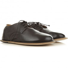 Marsell Men Lace-ups Black Leather Online Wholesale WQIEC3154