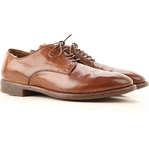 Officine Creative Men Lace-ups Tobacco Leather OZVOW4660