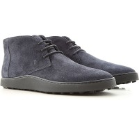 Tod's Men Lace-ups Midnight Blue Suede Leather Or Sale Near Me FIALN9070