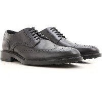 Tod's Mens Lace-ups Black Leather STWFD4110