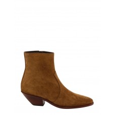 Women Saint Laurent Ankle Boots Extra Wide Width Cut Off Spring KRHCVVY