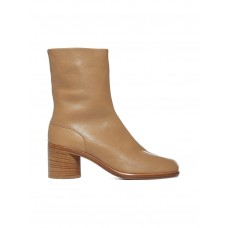 Women's Maison Margiela Tabi Leather Ankle Boots Hot Sale Spring CEOHIKQ